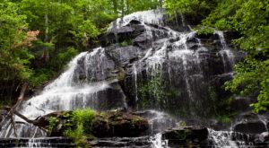 4. Issaqueena Falls near Walhalla, SC.