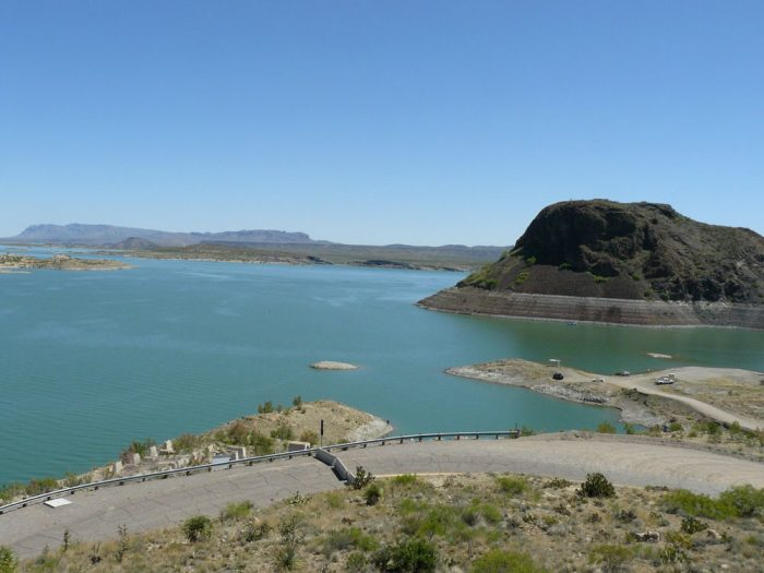 9. This is the biggest manmade lake in New Mexico.