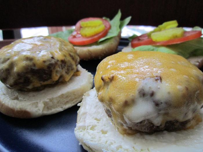 2. Steamed Cheeseburgers