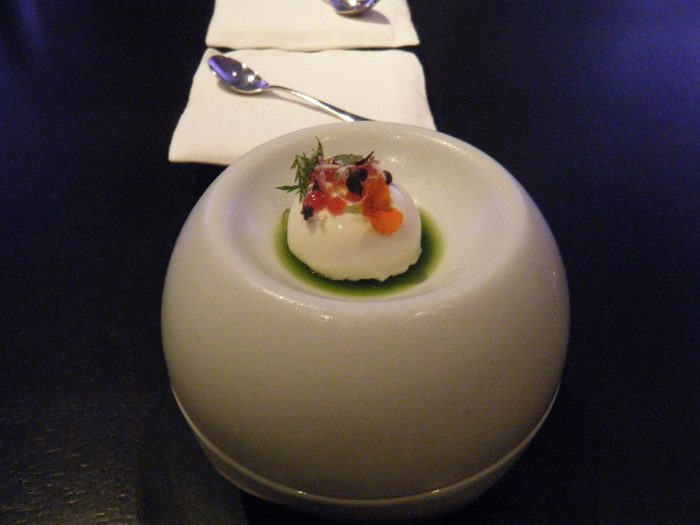 8. And would you have guessed that you could enjoy King Crab dessert?