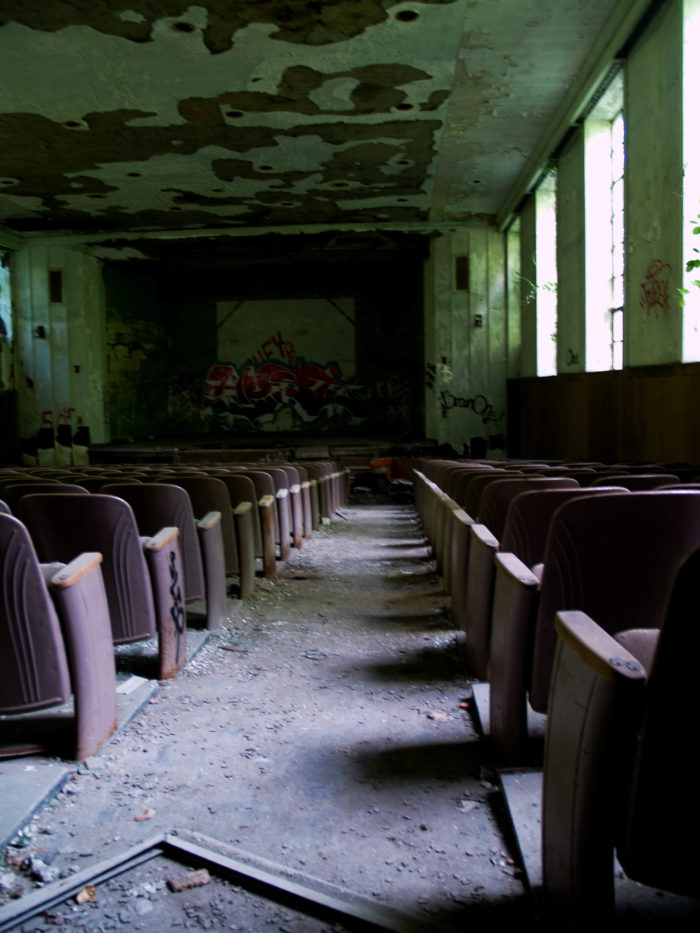 The college closed its doors in 1978, and has been abandoned ever since.