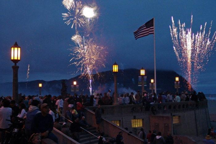 7. Seaside 4th of July Celebration
