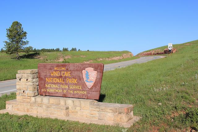 1. Visit Wind Cave National Park.