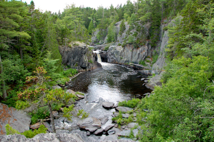 Grand canyon of maine