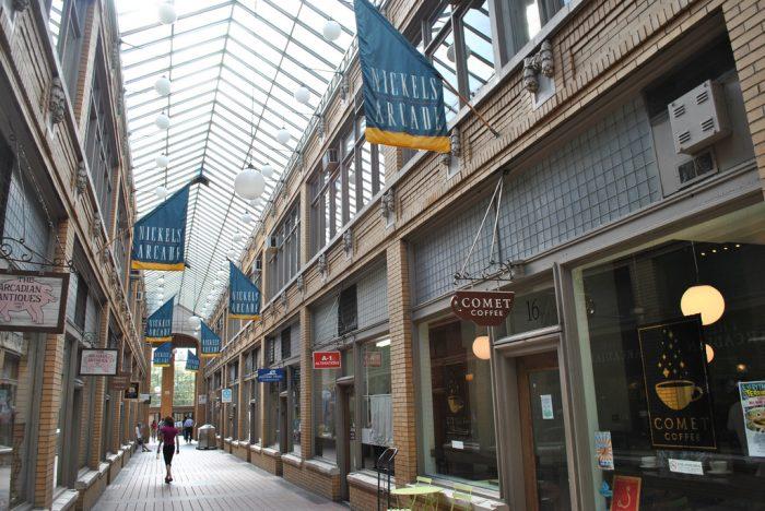 4. Nickels Arcade, Ann Arbor