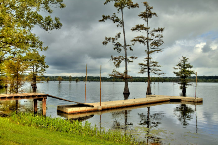 8. Threatening Thunderstorms Over Finch Lake