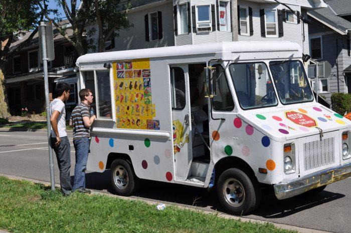 3. Ice cream vendors are illegal in Indianola.