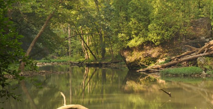 2. Clifton Gorge  (Editor's Update: The Ohio Department of Natural Resources has informed us that Clifton Gorge is NOT safe for swimming)