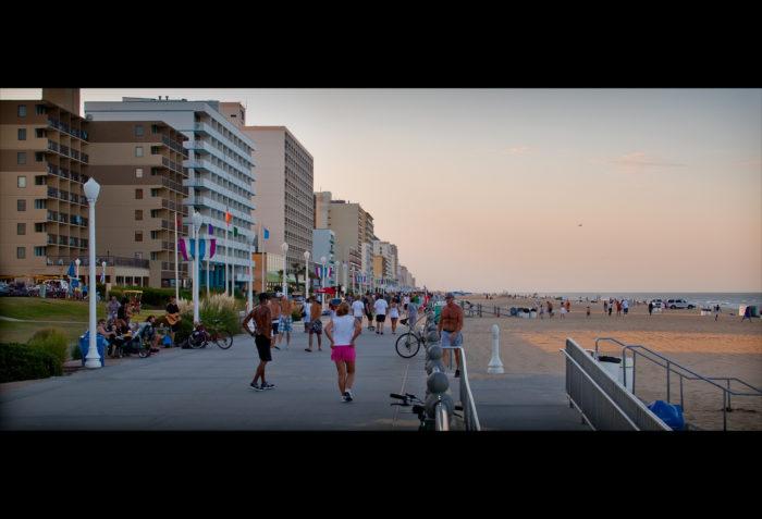1. Virginia Beach boardwalk