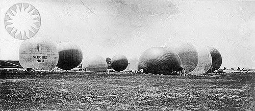 5. The First Race at the Track Featured Helium Balloons