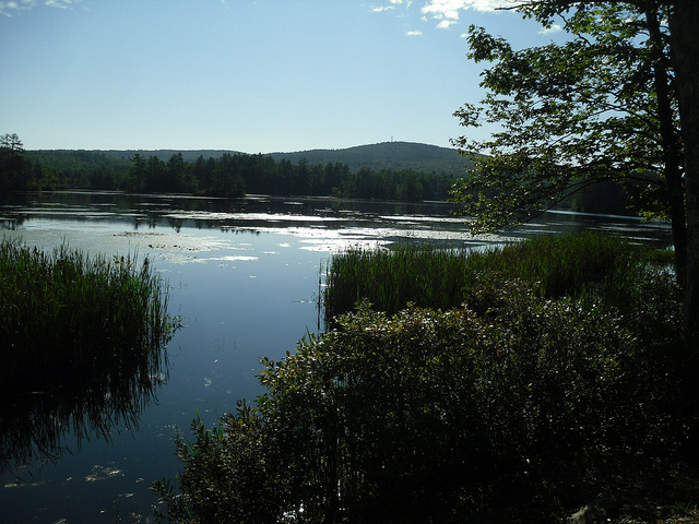 10 spots for fishing in new hampshire for Kerr lake fishing hot spots