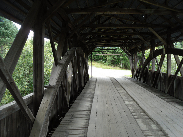 6. Happy Corner Covered Bridge, Pittsburg