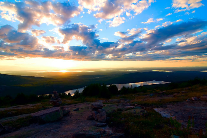 3. More specifically, check out the Blue Hill Overlook.