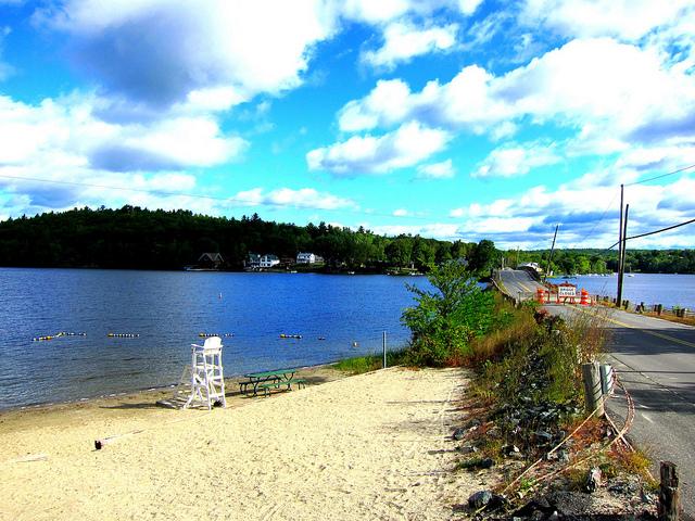 2. Mascoma Lake Beach, Enfield