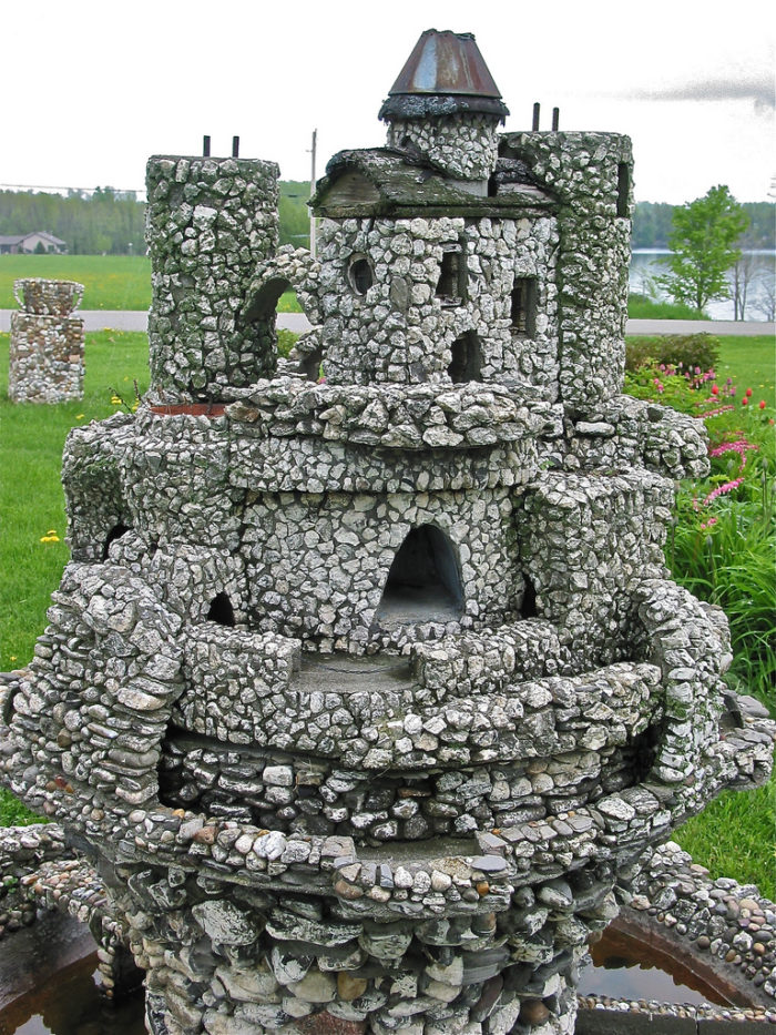 14.  Harry Barber's Miniature Castles.