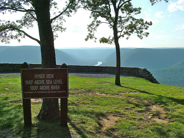 4. Snap photos of the Susquehanna River Valley from atop the Hyner View State Park Overlook.