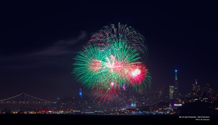 1. San Francisco's 4th of July Celebration at The Pier