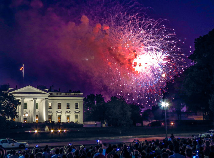 7. Celebrate 4th of July on The Mall.