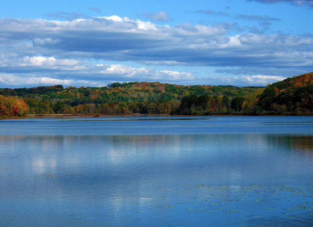 Lake Arthur is the magestic centerpiece at Moraine State Park. Beach goers flock to Lake Arthur's two beaches: Pleasant Valley Beach (South Shore) and Lakeview Beach (North Shore).