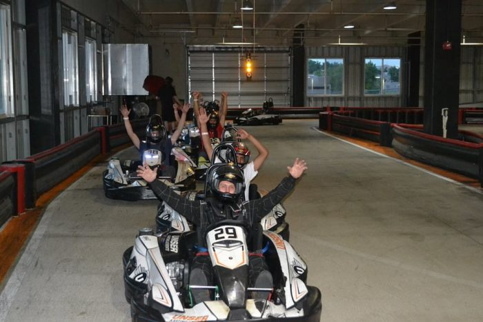 5.  Get your adrenaline pumping at Unser Racing.