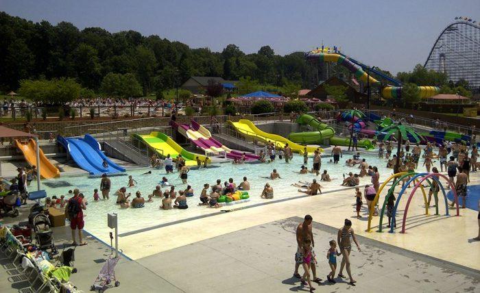 6. Waldameer Park & Water World, Erie
