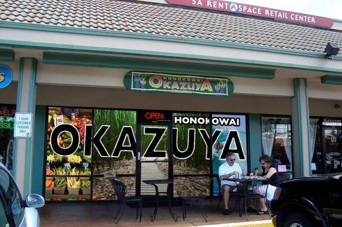 5. Honokowai Okazuya Deli