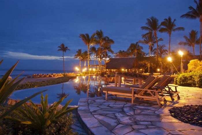 5. Luxury Resort: Four Seasons Hualalai