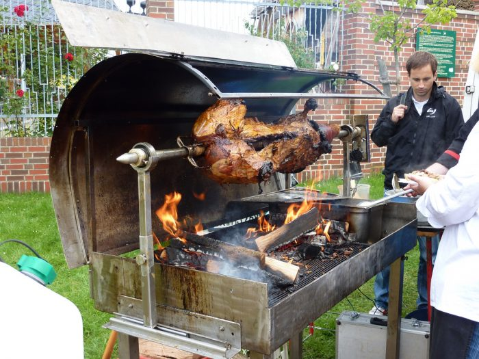 9.  They understand that a good pig roast can bring the neighborhood together.