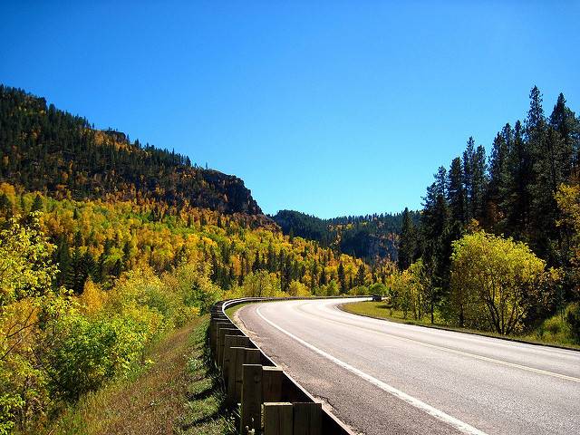 2. Spend some time in Spearfish Canyon.