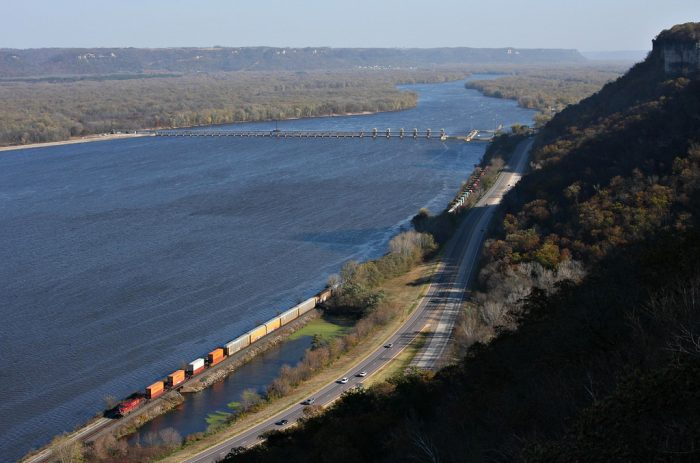 2. John A Latch State Park has magnificent views of the Mississippi.