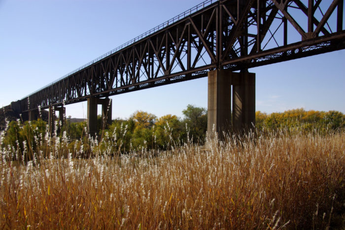 3. Railroad Bridge (Shamrock)