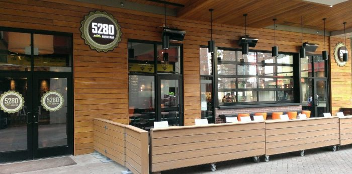7. 5280 Burger Bar - 500 16th St #160