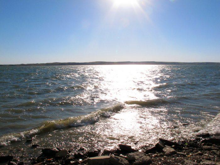 1. Lake Oahe - South Central North Dakota