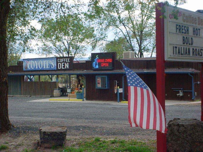 10. Coyote's Coffee Den (Penrose)