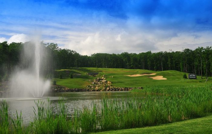 8. Some of the country's most coveted golf courses are located here, such as Jack Frost National Golf Club, which is one of the most popular mountain golf courses.