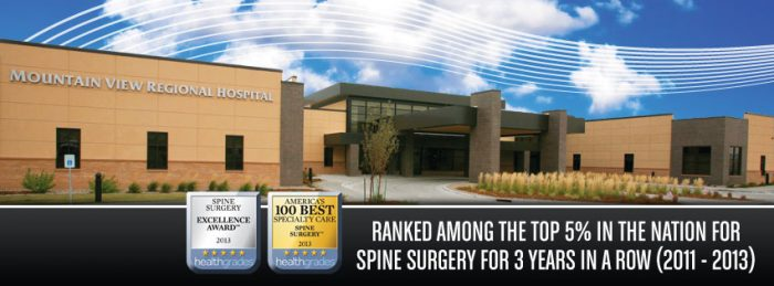 6. Mountain View Regional Hospital