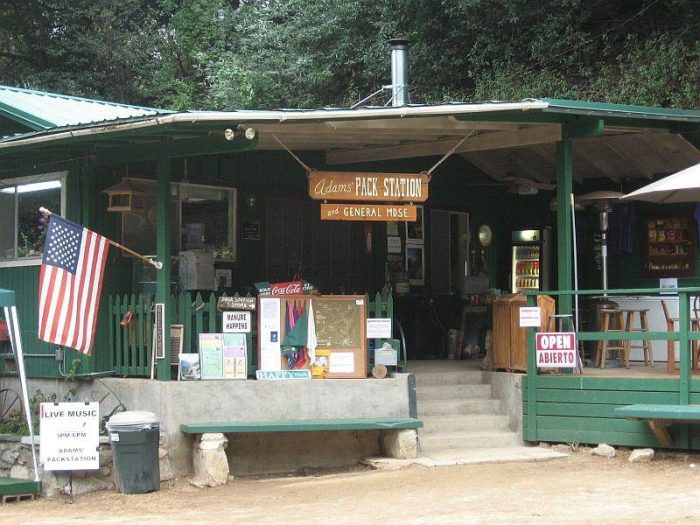 5. Adam's Pack Station and General Merchandise -- Sierra Madre