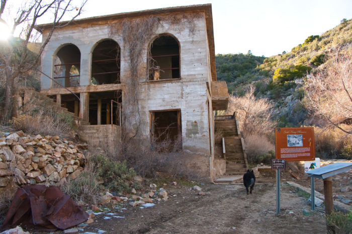 5. When in Kingman, also visit the abandoned Gold King Mansion, once used by the mining corporation to entertain investors.
