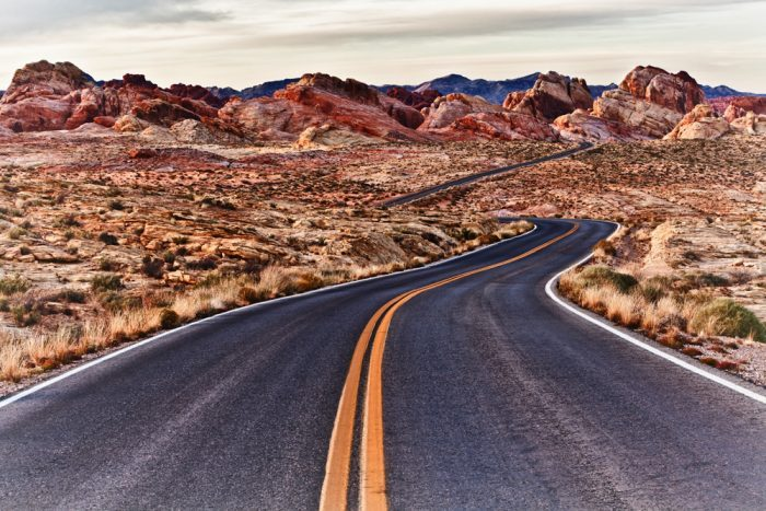 15. Nevada: Valley of Fire Road