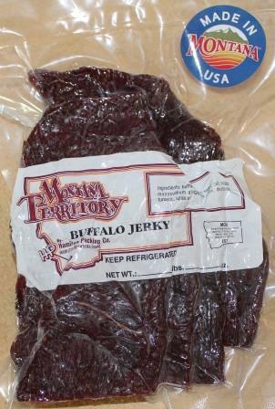 8. Buffalo jerky.