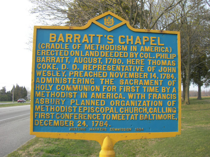 2. It's home to Barratt's Chapel