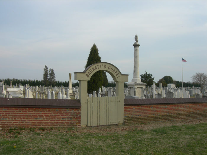 3. You can explore this creepy cemetery