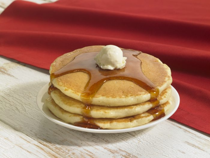 7. Eat a big stack of pancakes!