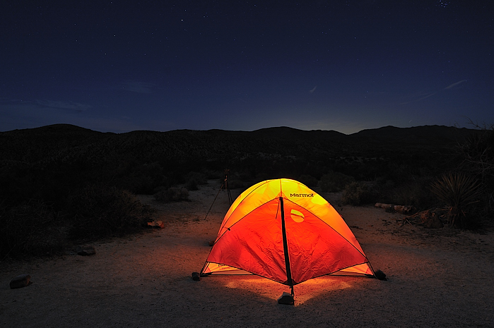1. Camping just about anywhere in the state.