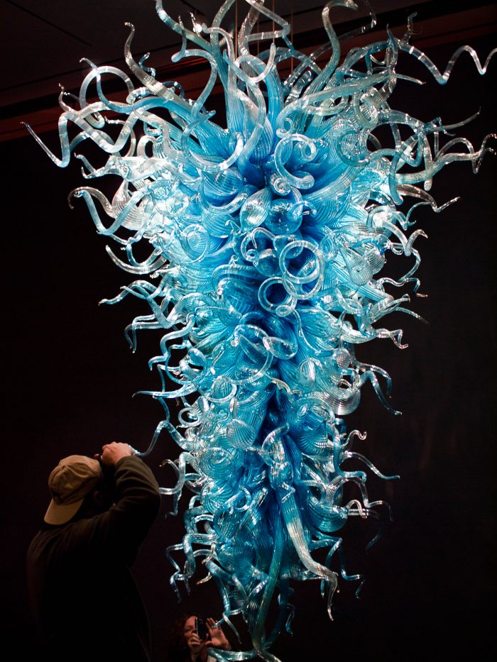 10. Or this whimsical piece, also by Dale Chihuly.
