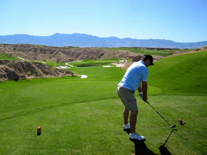 Or perhaps you'd rather play a round of golf at one of the nation's finest courses, Wolf Creek Golf Club. Hey, we don't blame you! It's such an awesome course!