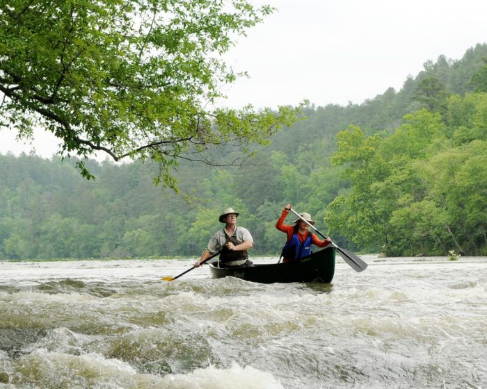6. Go canoeing or kayaking down the Cahaba River.