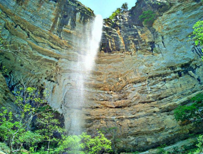 10. Hemmed-in-hollow Falls