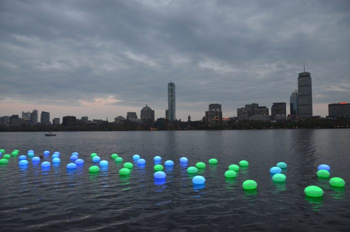 3. The MIT+150: Festival of Art + Science + Technology fuses the capabilities of science and the beauty of art. This mesmerizing display looks like aquatic alien plant life.