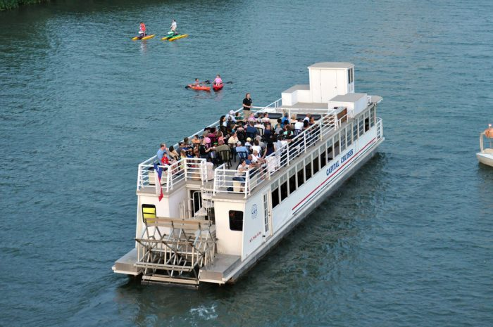 1. Go on a boat tour with Capital Cruises.